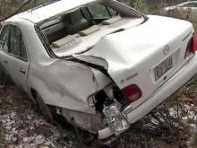 Icy roads cause wrecks in Raleigh