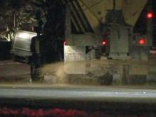 DOT treats icy roads, but slick spots remain