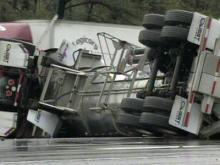 Wrecks slow traffic on I-40, I-540