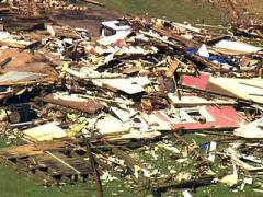 Sky 5: Bertie County storm damage