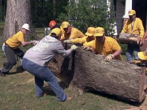Baptist Men help with storm recovery