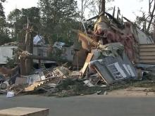 Raleigh mobile home park residents get first look at damage