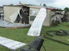 Duplin County sees some storm damage