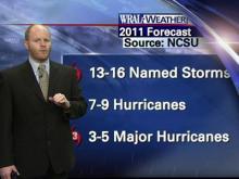 Web Weather Extra: 2011 hurricane season