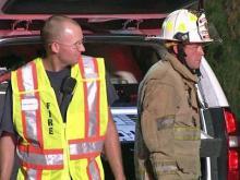Garner firefighters deal with heat