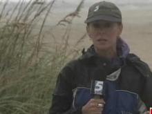 Irene's rain falls in Wrightsville Beach