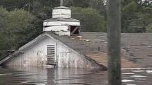 Princeville flooding during Floyd