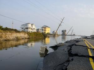 Photos of Hurricane Irene's impact in on N.C. Highway 12 by Donny Bowers.