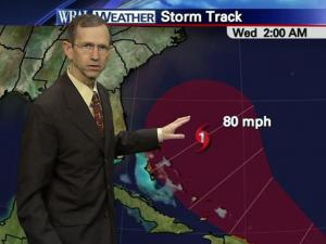WRAL meteorologist Mike Moss talks about Maria's possible path.