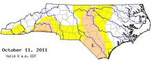 drought map oct 11