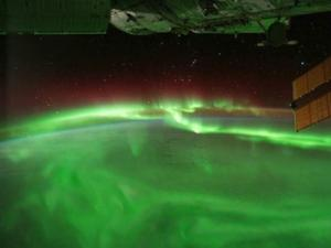Aurora from the International Space Station (NASA)