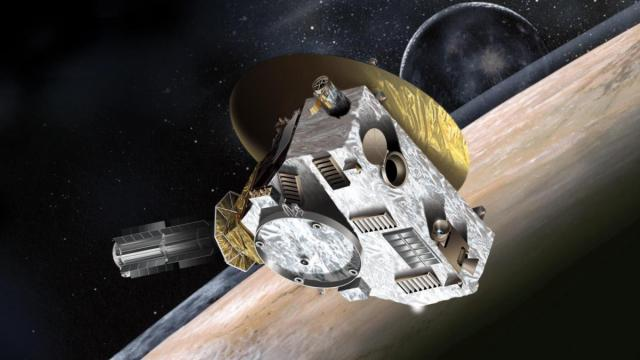 New Horizons mission is 2/3 of the way to Pluto (credit: JHUAPL/SwRI)