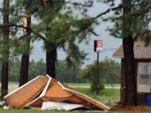 Severe storms blow eastern NC