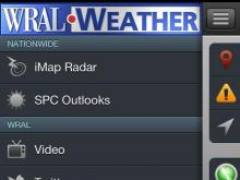 WRAL Weather Radio App screenshot