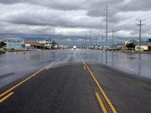 Highway 158 flooding