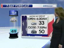 Election Day forecast