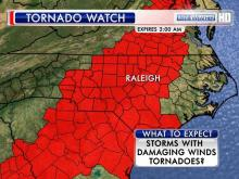 Tornado watch for Jan. 30, 2013