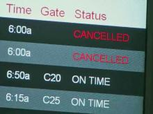 Flights to Northeast canceled ahead of massive storm