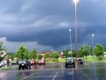 Viewer video: Possible tornado in Aberdeen