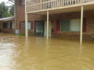 Camelot Village flooding