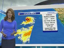 Tropical Storm Dorian forms off African coast