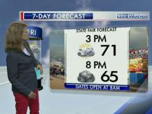 Fair forecast, Oct. 18, 2013