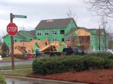 Viewer video: Brier Creek building collapse