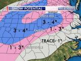 Snow forecast Thursday thb