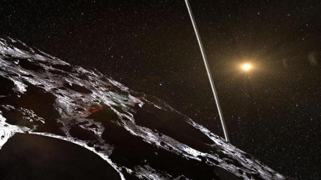 asteroid Chariklo