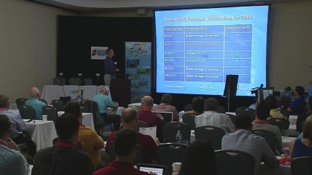 Colorado State forecasters make hurricane season forecast