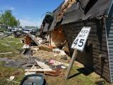 Storm damage in Elizabeth City