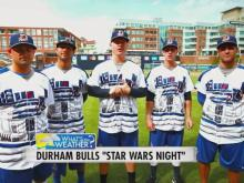 What's the Weather: Durham Bulls Star Wars Night