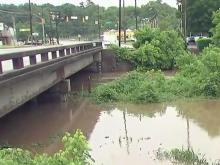 Rain brings flash flooding to Triangle
