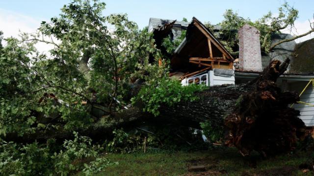 Durham storm damage