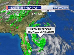 This storm could likely become a tropical depression later this week.