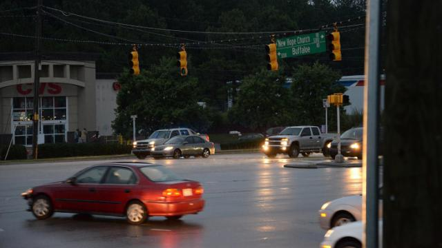 Severe storms cause Raleigh power outage