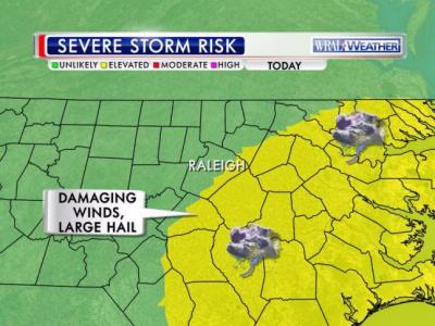 Severe weather threat, Aug. 22, 2014
