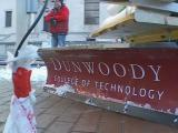 Minnesota students work on robotic snowplow