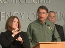 Gov. McCrory outlines state's winter storm preparations