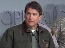 McCrory: Crews clearing roads after winter storm