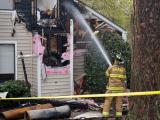 Lightning-sparked fire damages Raleigh apartment