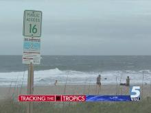 Winds, strong currents ahead of Ana