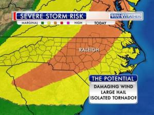 Severe storm risk: June 27, 2015