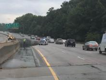 Viewer video: High water on Raleigh road
