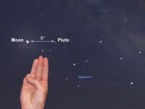 You can find pluto