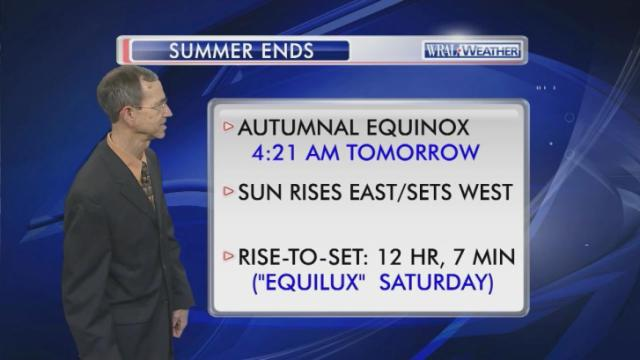 Autumn officially begins with equinox