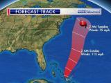 Hurricane Joaquin forecast track: Oct. 2, 2015