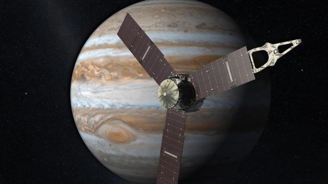 The Juno mission will reach Jupiter on July 4, 2016 (Credit: NASA/JPL)