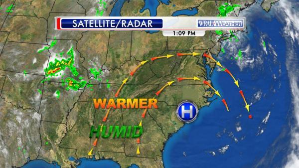 WRAL Weather Feed: Elizabeth Gardner