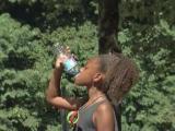 Intense heat keeps campers, athletes indoors